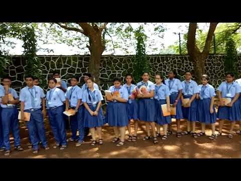 Outdoor Math Class at B K Birla Public School Kalyan