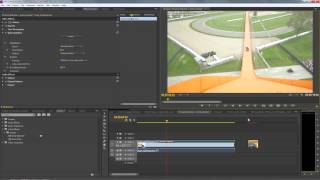Using Warp Stabilizer in Premiere Pro CS6