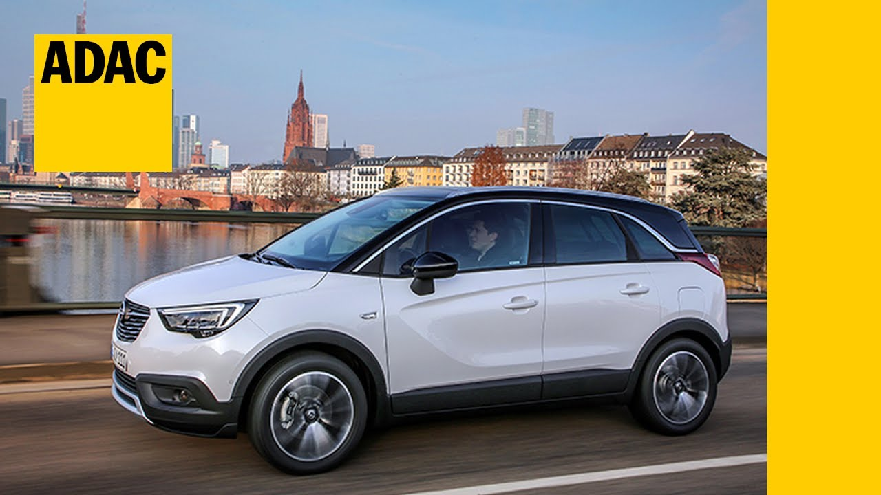 opel crossland x im motorwelt check adac 2017 youtube