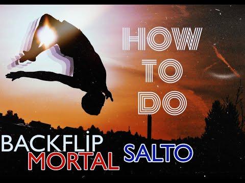 #24 Tutorial Capoeira MORTAL-BACKFLIP-SALTO //#24-cü Məşq MORTAL-SALTO-BACKFLIP hərəkəti//