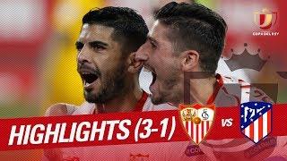 Resumen de Sevilla FC vs Atlético de Madrid (3-1)