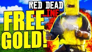 FAST AND EASY FREE GOLD BARS in Red Dead Online...