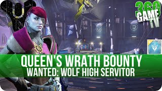 Destiny - Wanted: Wolf High Servitor (Temple of Crota Moon) - Queens Wrath Bounty Location