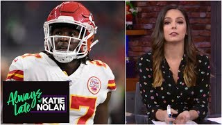 Reacting to the Kareem Hunt and Reuben Foster news | Always Late with Katie Nolan