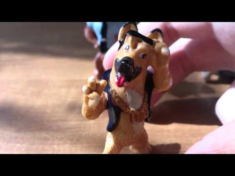 Обзор на серию киндер сюрприза городские собаки
