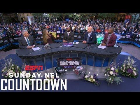 Eagles or Patriots: Predicting the winner of Super Bowl LII   NFL Countdown   ESPN
