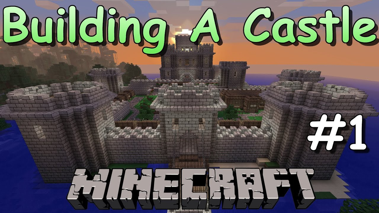 Minecraft Castle Build - Part 1