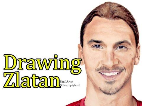 Drawing of @zlatan ibrahimovic