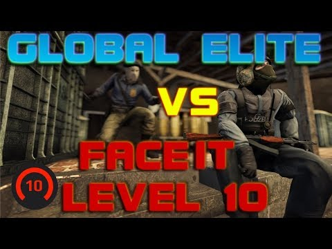 GLOBAL ELITES Playing Against Faceit Level 10