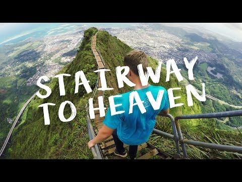 STAIRWAY TO HEAVEN OAHU HAWAII   NO GUARD!!   VLOG 83