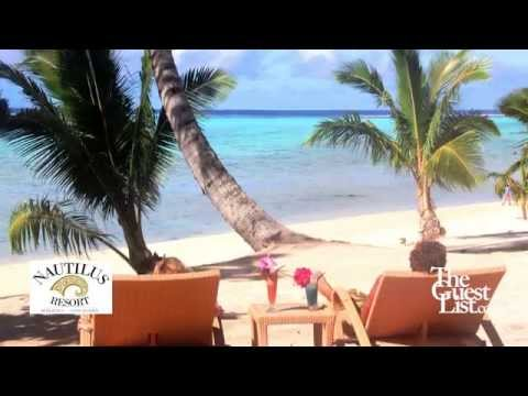 Beside a breath taking Lagoon - Nautilus Resort Cook Islands