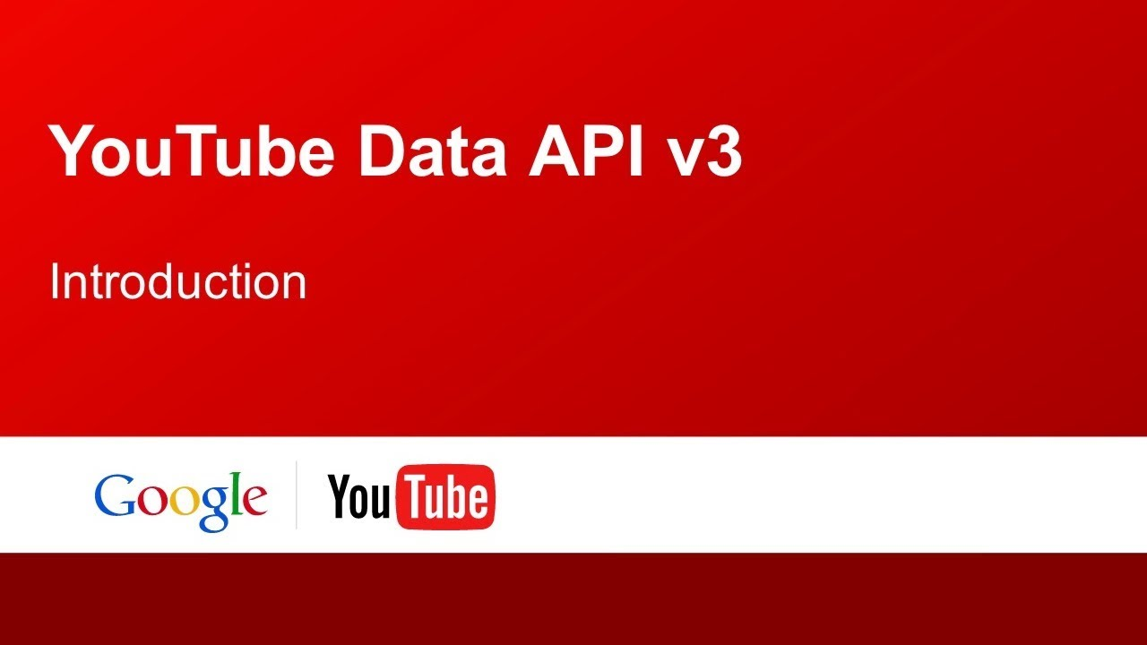 How to get your youtube api key youtube importer - Get A Youtube Api Key V3