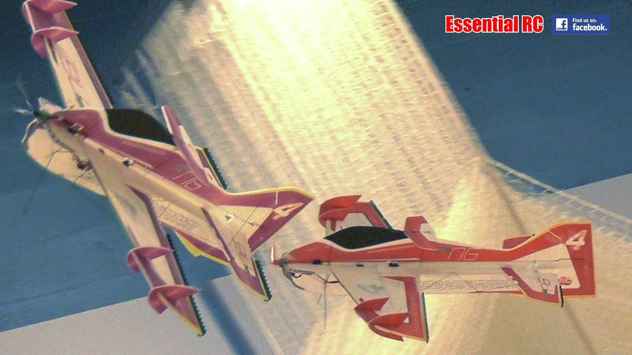Micro aerobatic rc plane