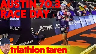 Half-Ironman Austin 70.3 Race Day was October 29, 2017 and Triathlo...