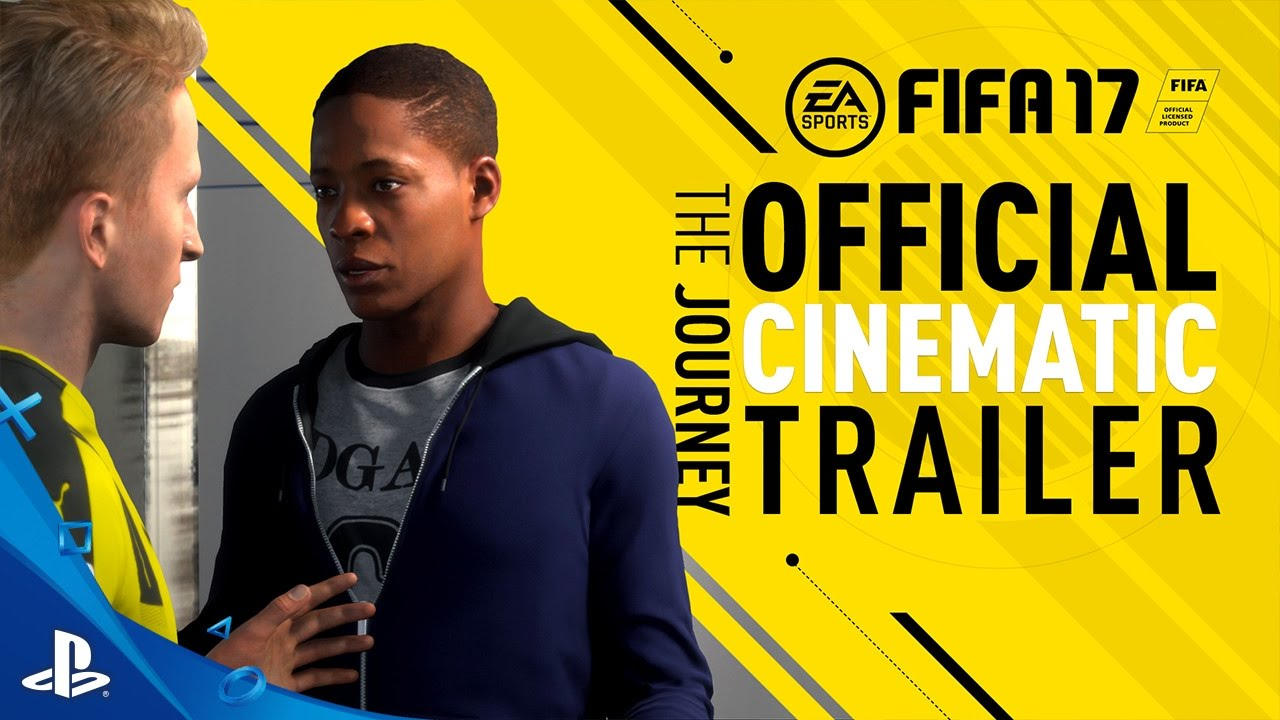 Fifa 17 The Journey Ps3