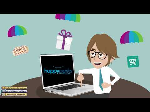✅Employee Benefits Presentation Reward And Recognition System Animation Explainer Video: Happy Perks