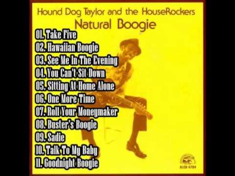 Hound Dog Taylor - Natural Boogie [Full Album]