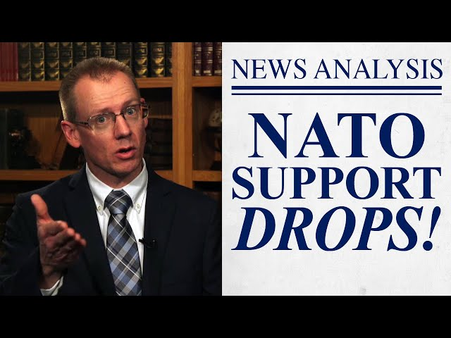 Survey Shows Drop in NATO Support
