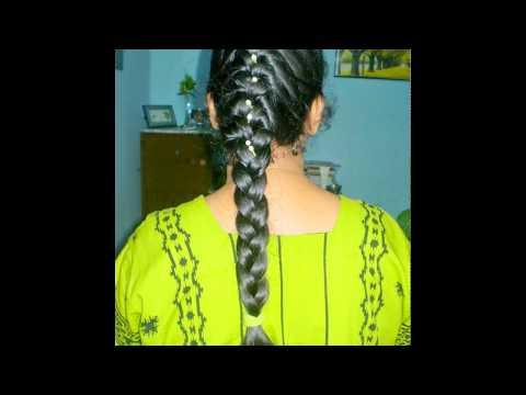 hair style sagar choti for wedding especially long hair slideshow youtube