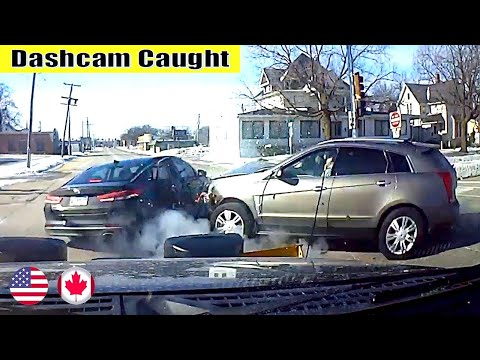 Ultimate North American Cars Driving Fails Compilation - 210 [Dash Cam Caught Video]