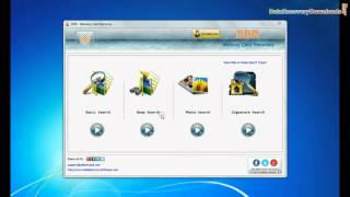 Use Memory Card Recovery Software to restore deleted data from CF card