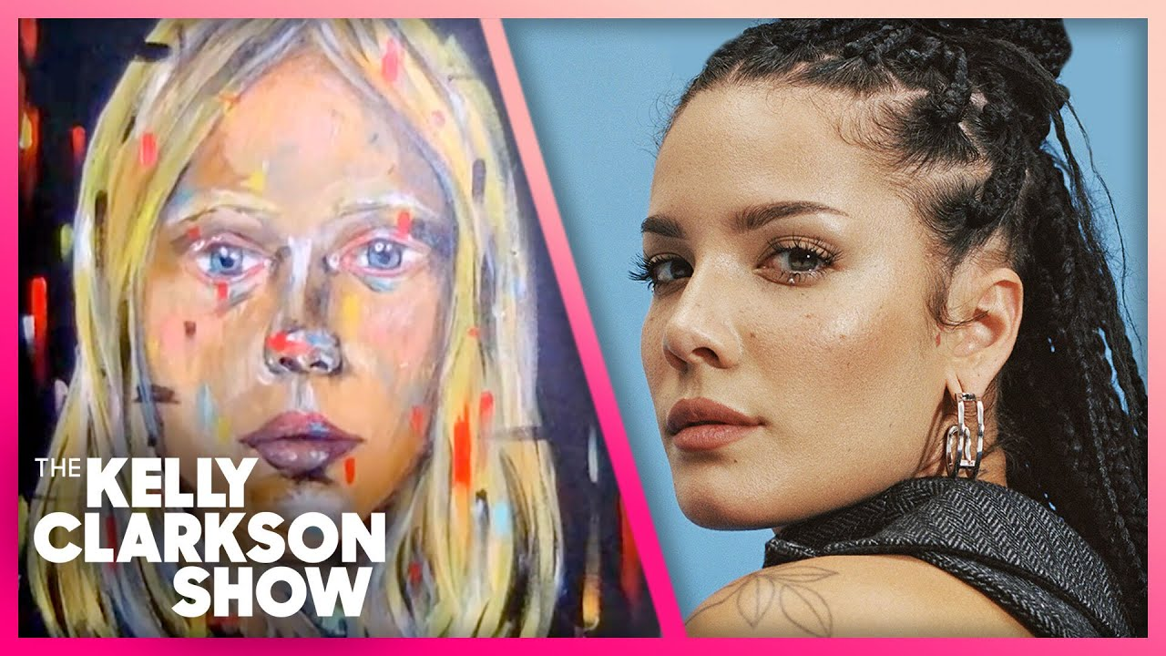 Halsey Shows Off Mind-Blowing Painting Skills