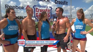 2018 CrossFit Games | Team Bike Deadlift