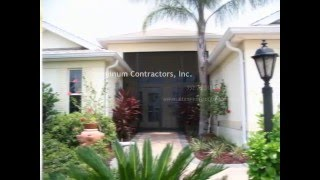 Screen Pool Enclosures, Screen Rooms, Front Entry, Glass Vinyl Acrylic Windows