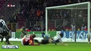 GOAL Wesley Sneijder Galatasaray-Juventus | Yolanthe reageert