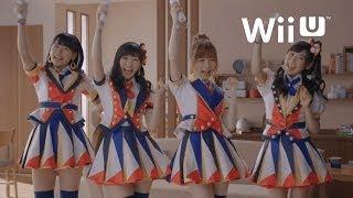 ジャストダンスWiiU、CM(AKB48、渡辺麻友、島崎遥香、小嶋真子、西野未姫)