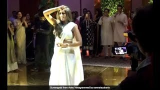 Amitabh Bachchans Daughter Shweta Nanda Shows Her Dance Moves