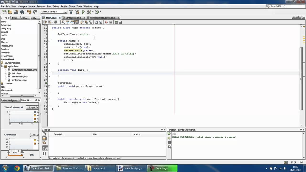 General Java Game Development Tutorials