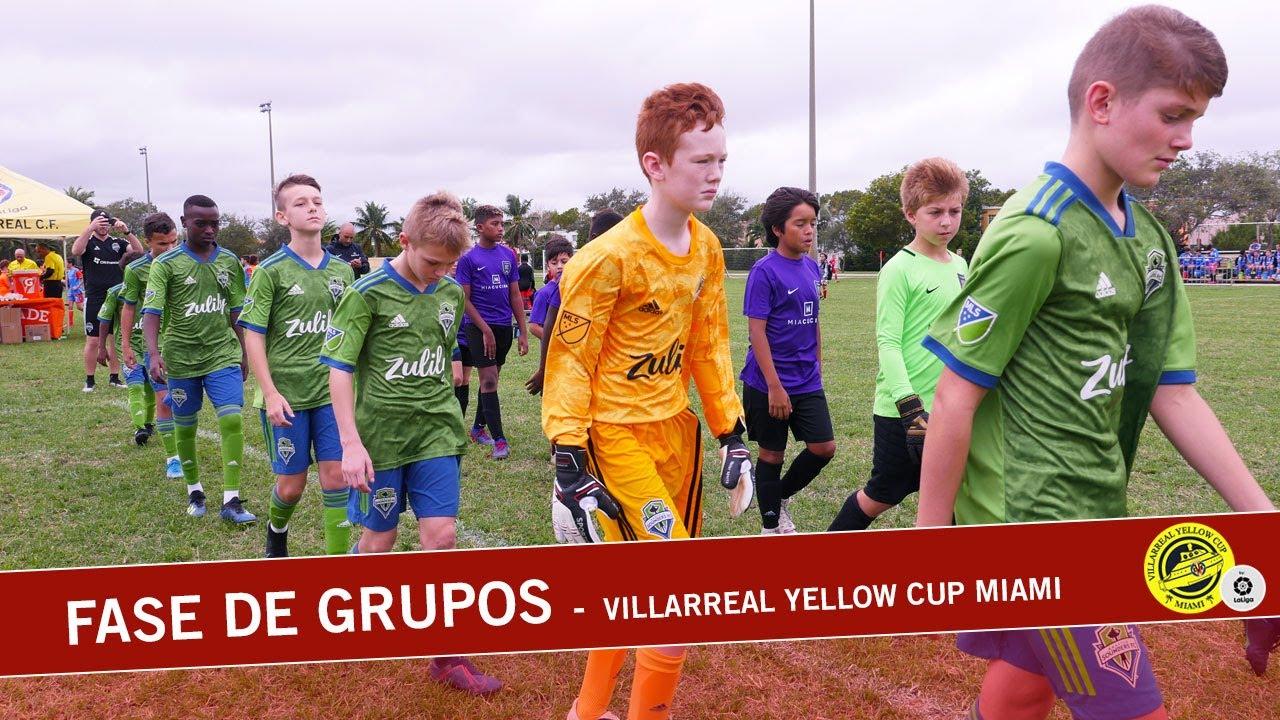 Fase de grupos Villarreal Yellow Cup Miami | 2019