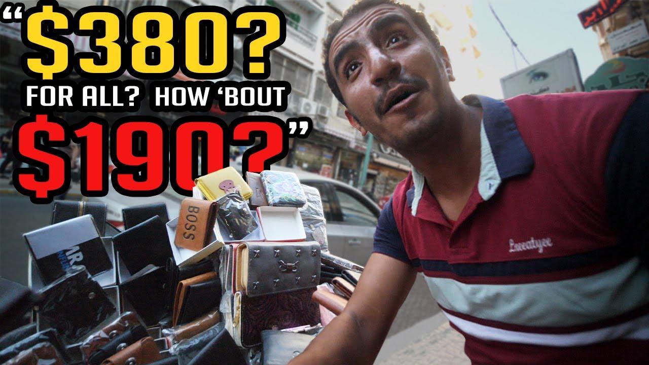 Egypt Bargain Market Escapade!