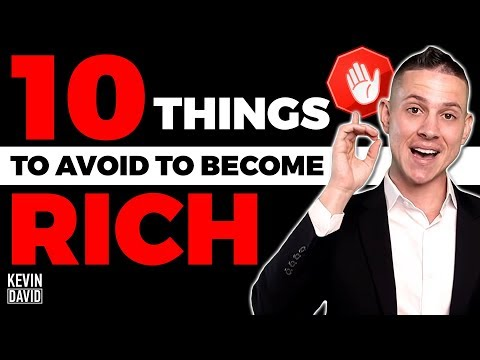 10 Things To Avoid If You Want To Become RICH! thumbnail