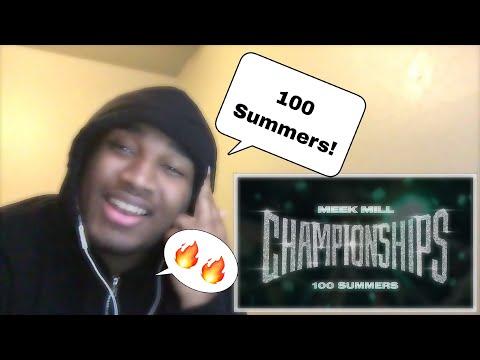 Meek Mill - 100 Summers REACTION!!