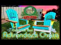 Customizing an Adirondack Chair DIY / Transfer Pictures to Wood