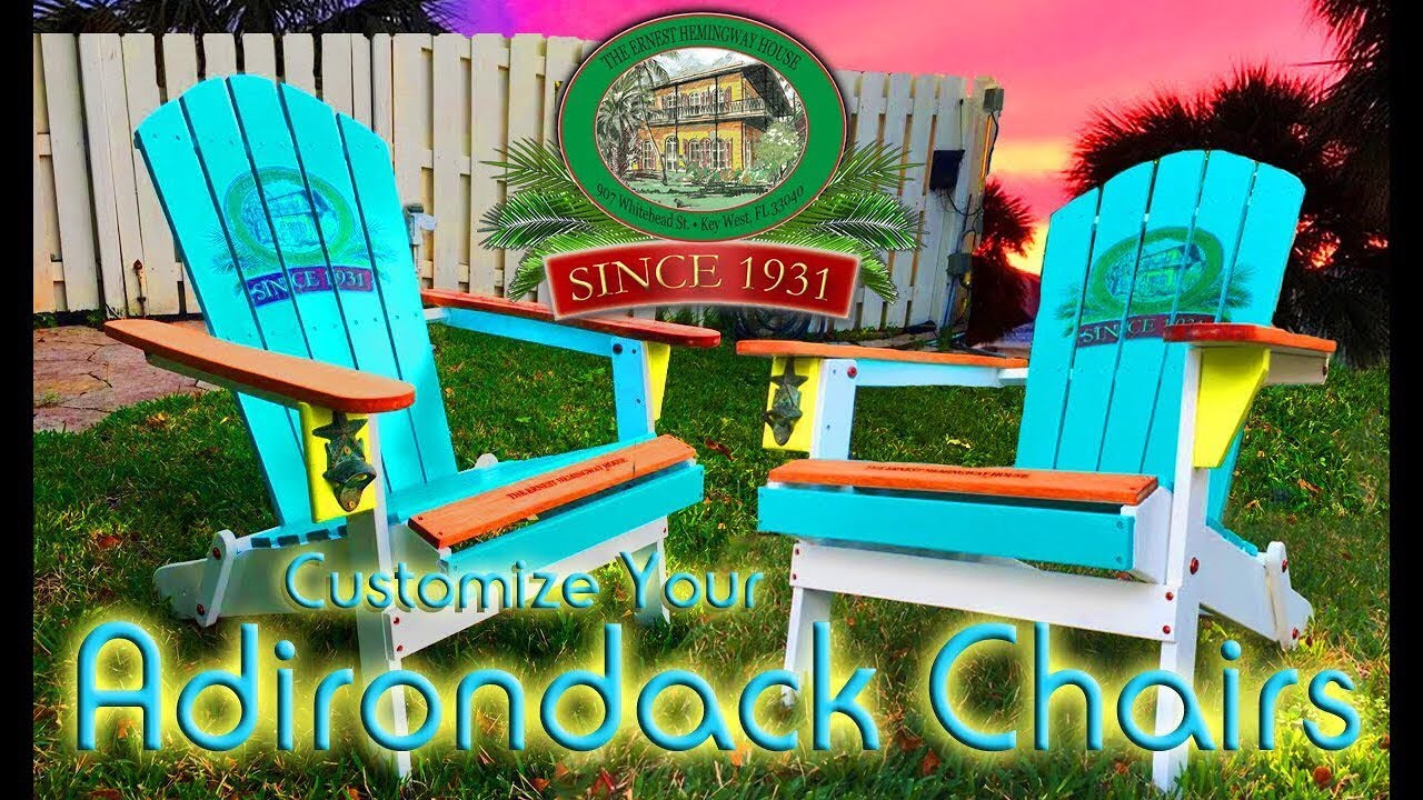 making your own adirondack chairs | Make your own Margharitaville Adirondack Chair/ Transfer ...