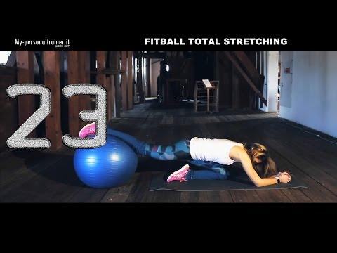 Fitball Total Stretching - Esercizi di Stretching su Fitball