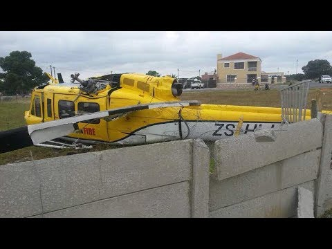 WoF Helicopter crash in Bredasdorp