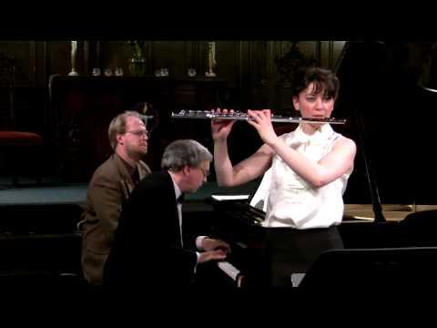 Mimi Stillman, flute and Charles Abramovic, piano play Benjamin C.S. Boyle