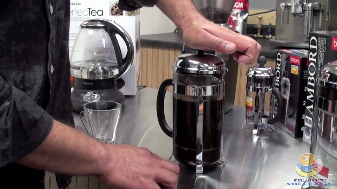 Bodum Chambord Coffee Press Youtube