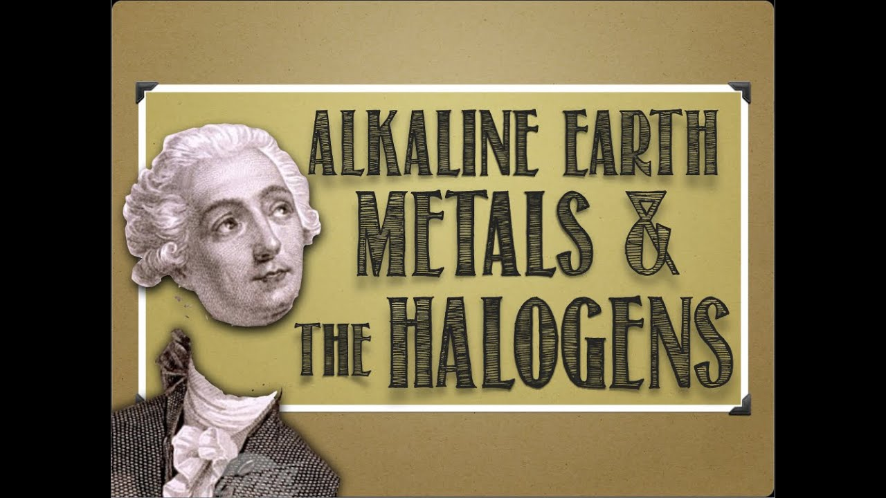 Periodic table alkaline earth metals halogens youtube urtaz Image collections