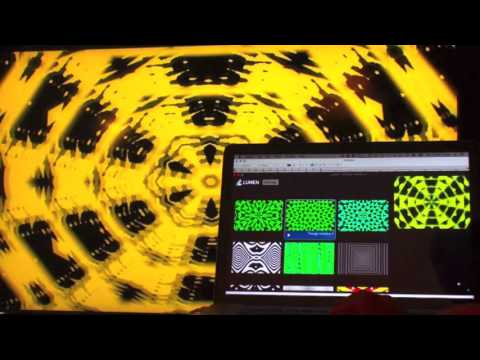 LUMEN Video Synthesizer Software !  Review B - Visual Oscillators