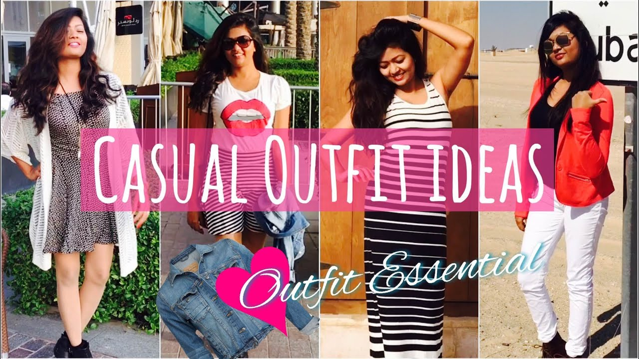 Casual Outfit Ideas | Pairing With Denim Jacket | Outfit ...
