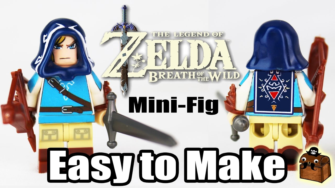 Zelda botw custom lego minifigure 2017