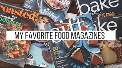 Finding Inspiration in Food Magazines