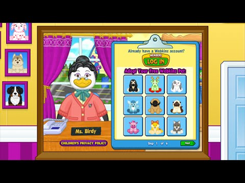 How to Adopt a Pet in Webkinz World!