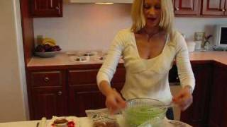 Betty's Lime Mist Gelatin Salad