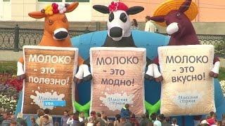 В Уфе проходит самый большой в России праздник молока(Официальный сайт ГТРК